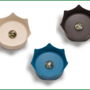 CrownJuwel Gemstone Pet Bowls
