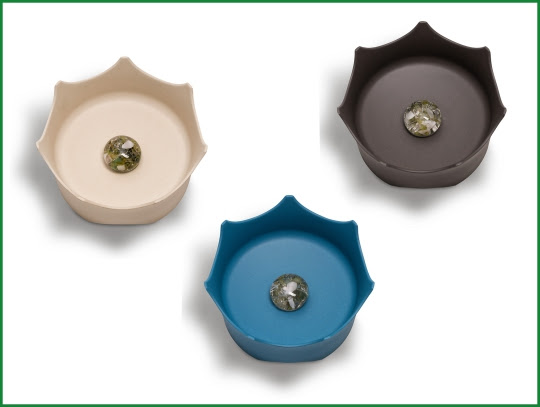 CrownJuwel Gemstone Pet Bowls